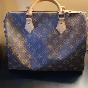 💯 Authentic Louis Vuitton Speedy 30 Monogram